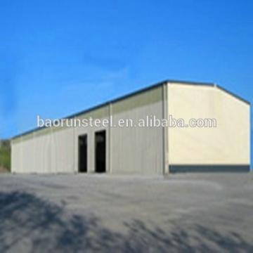 Reasonable price Prefab Corrugated Lightweight Steel Structure Space Storage Warehouse