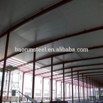 Hot Sale Prefabricated Industrial Light Steel Metallic Structures For Warehouse