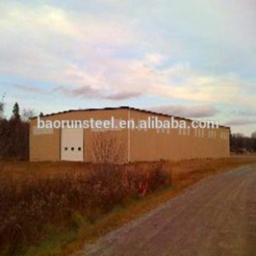 Easy assembly Security and Reliable Prefabricated Warehouse Steel Construction