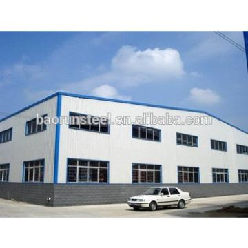 green material steel and prefab steel structure building warehouse