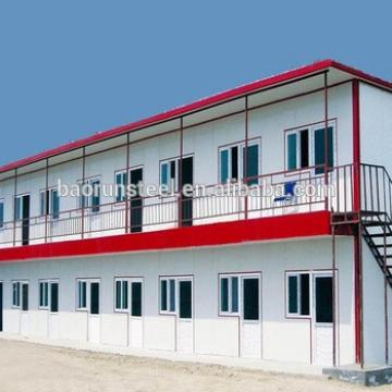 prefabricated dormitory, prefab camp