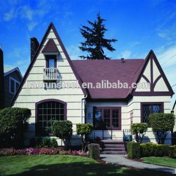 Cheap Villa House Plans(luxury steel prefabricated)