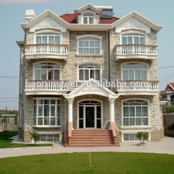 Highly cost effective prefabricated luxury villa