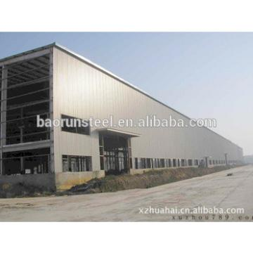 Industrial shed design wide span prefabricated light steel structure warehouse costing