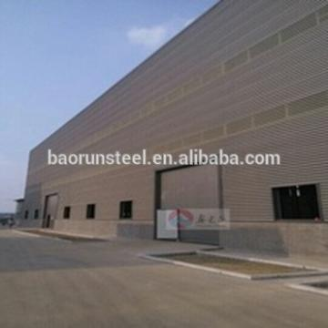 Semi-permanent Aluminium Structure Prefabricated Warehouse for warehouse clothing china