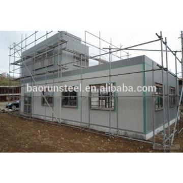 environmental material PU/EPS sandwich panel prefabricated steel frame warehouse