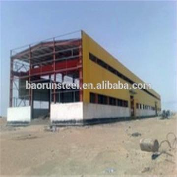 China Light Steel Structure/Economic Prefabricated Warehouse