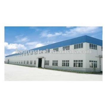 easily installed high strength steel structural prefabricated frame construction for industrial factory