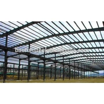 high strength heavy duty framework designed steel structural workshop project