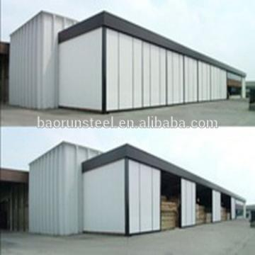 Modular rust proof fire proof and rust proof 15years use prefab house with steel structure poultry house