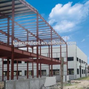 Economic cost of steel material light steel structure building house with modern style
