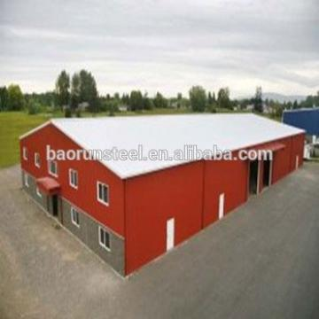 Beautiful Decorated Light steel Fast Building Cheap Prefab Steel Structure House
