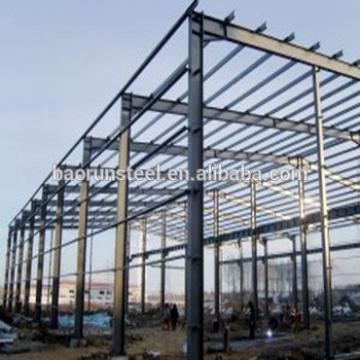 Easy install prefabricated steel building for steel frame house