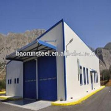 Light for living cheap prefab steel structure house with toilte and kitchen