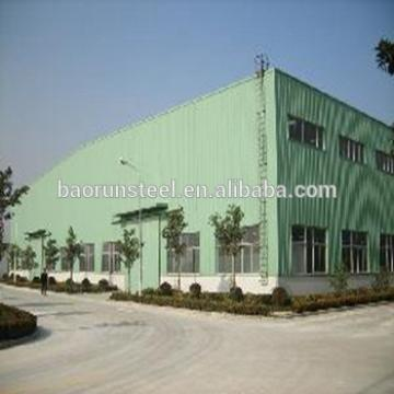 Qingdao Baorun steel material & steel structure building for warehouse