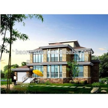 light steel structure prefabricated ready made house with comfortable living