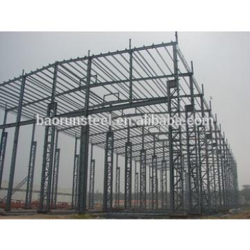 high quality light steel structure/construction building workshop