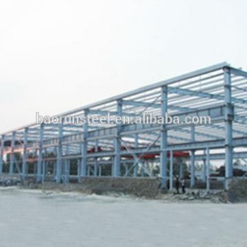 Qingdao large span steel structure prefabricated warehouse workshop hangar buildings