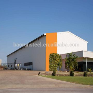 Prefabricated modern steel warehouse building