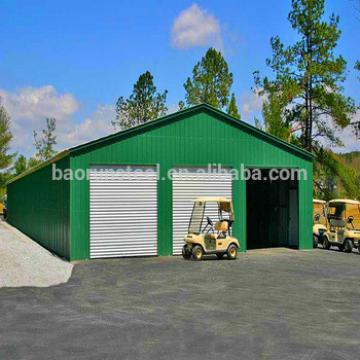 Used steel structure portable warehouse car workshop design