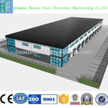 Steel Frame Warehouse Building
