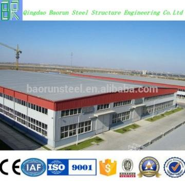 Cheap lightweight prefabricated workshop building construction material