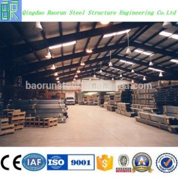 Metal building steel frame warehouse industrial storage shed
