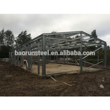 low cost pre-engineered steel warehouse building