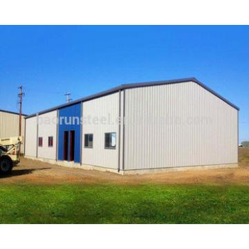 Pre engineered plane steel warehouse building