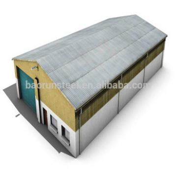 Mini prefab steel warehouse