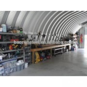 low cost steel garage building