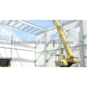 Steel Airplane Hangar construction