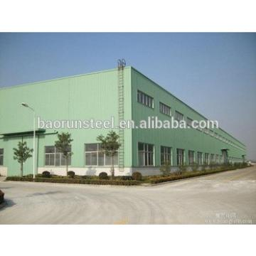 Steel shade structure for warehouse