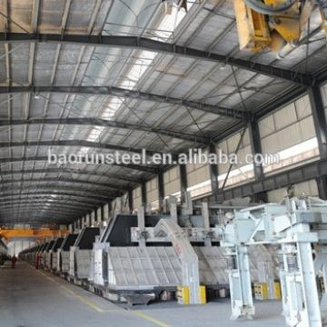 Lightweight China Manufacturer Workshop Prefabricated Industrial Shed Designs