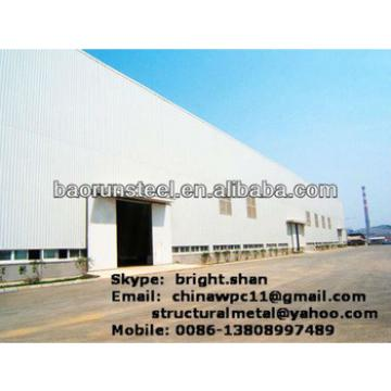 Prefabricated Sheds steel structure