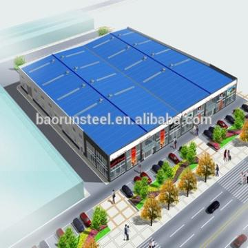 China Qingdao baorun Steel Structure Shopping Mall