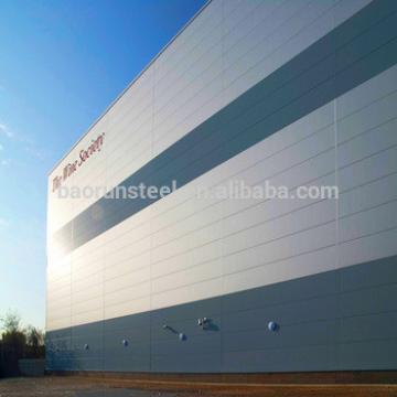 Modern Design China Industrial Prefabricated Steel Frame Hall