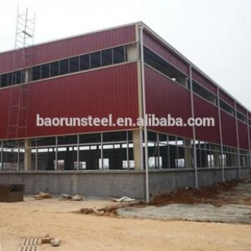 Slope Roof Prefabricated Houes/Light Steel Frame