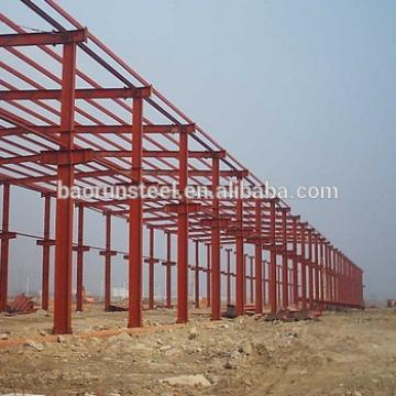 tubular steel structure