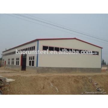 perfect modern design light steel structure workshop/warehouse
