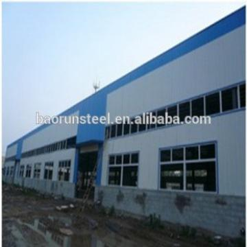 Prefabricated steel hangar/design steel factory/ warehouse