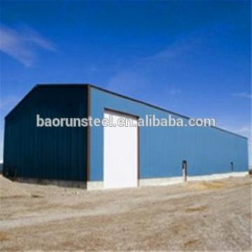 Prefabricated steel structure warehouse , steel structure workshop