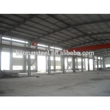Prefab Metal Steel Structure Prefabricated Warehouse