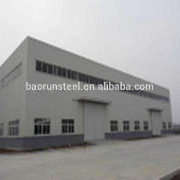 High Quality Sandwich Panel Door Prefabricated Structural Building Steel Workshop Shed