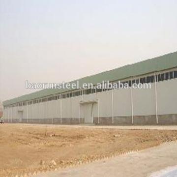 Pre engineered metal low cost big steel structure workshop