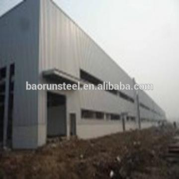 Light steel construction prefabricated workshop large span car showroom