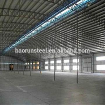 Jordan project long span steel factory prefab warehouse