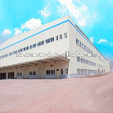 Steel frame prefabricated workshop/warehouse