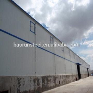 Prefab Light Steel Structure factory Plant / workshop/ steel workshop buildings