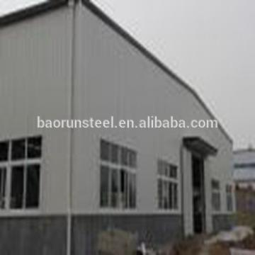 Prefabricated warehouse in europe workshop shed building drawing lowcost